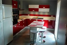 cuisine en annonay réalisations cuisine et blanche de cuisines avec socoo c
