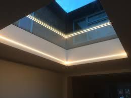 warmer white 2700k led tape skylight installation my project