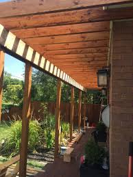 Pergola Roof Brackets by Curb Appeal Facelift Part 4 Porch Pergola With Mister U2013 Designs
