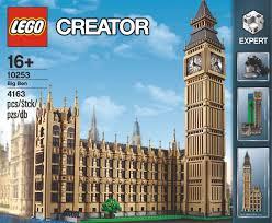 lego big ben creator expert set 10253