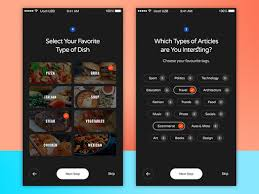 Two Dark Ui - select user interface design ui ux and mobile ui