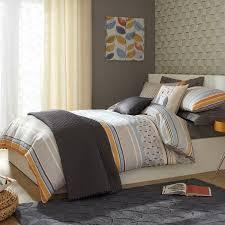 Bed Bath And Beyond Quilts Iliv Fjord Tangerine Printed Duvet Cover Sets Multi Duvet