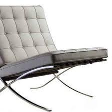 The Barcelona Chair Mid Century Modern Schlage