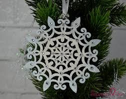 swarovski handmade snowflake ornament the inspiration vault