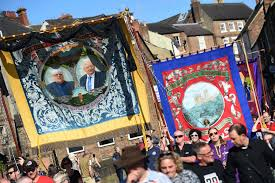 durham miners gala 2017 in pictures colourful banners paraded