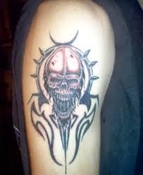 12 tribal skull tattoos designs