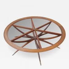 coffee table awesome mid century modern walnut coffee table