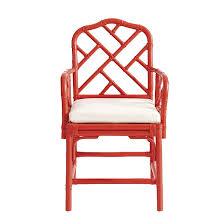 Armchair With Wheels Macau Armchair Ballard Designs