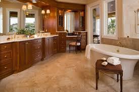 Cherry Vanity Cherry Vanity Stools Bathroom Traditional With Beige Tile Floor