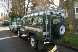 land rover old old parked cars 1987 land rover one ten wagon