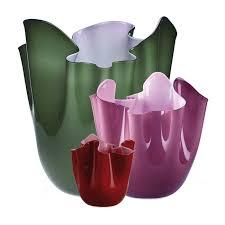 vasi venini prezzi venini glass venice italy fazzoletti bicolore by fulvio