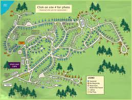 Map Og Wakeda Campground Site Map