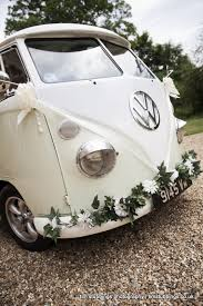 wedding flowers kent decorated vw cer bumbers with wedding flowers photography