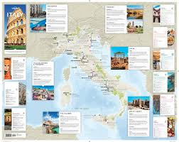 Italian Map Lonely Planet Italy Planning Map Travel Guide Lonely Planet