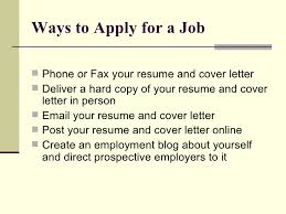 Resume To Apply For A Job by Job Searching 101 Resume And Cover Letter