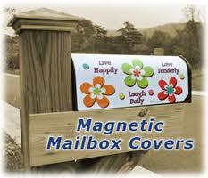 magnetic mailbox covers magnets usa