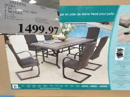 cing chair with table costco west sales items for july 31 august 6 for bc alberta