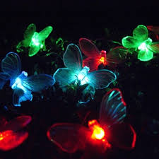 Colour Changing Solar Garden Lights - 17 best summer lights images on pinterest outdoor fairy lights