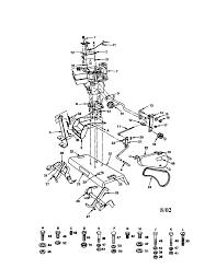 craftsman 8 h p tiller attachment parts model 917242484 sears