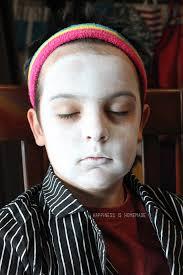 15 minute jack skellington halloween makeup happiness is homemade