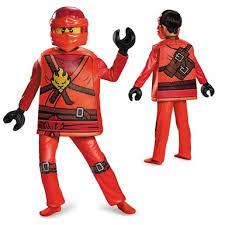 Halloween Costume Ninja Boys Ninjago Deluxe Kai Costume U2013 Lego Halloween Costumes