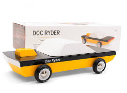 wooden car amazon com candylab toys doc ryder wooden car modern vintage