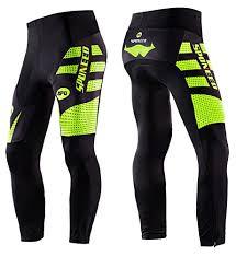 amazon com wolfbike cycling jacket jersey vest wind rion pro cycling pants men s compression padded capri 3 4 shorts