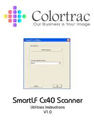 colortrac cx40 utilities service manual image scanner
