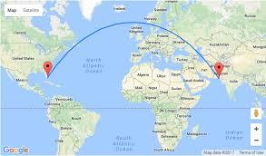 world map pakistan karachi error fare flights from miami to pakistan for 326