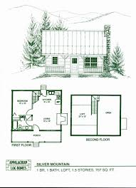log cabin floor plans under 1000 square feet