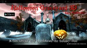 halloween graveyard 3d live wallpaper for android youtube