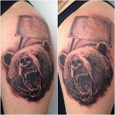 13 best california bear tattoo designs for men images on pinterest