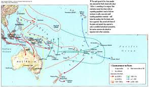 Map Of Oceania Exploration And Colonization Transpacificproject Com
