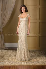 Mother Of Bride Dresses Couture by K178018 Long Queen Anne Neckline Lace Mob Dress