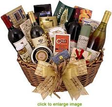 gift baskets with wine wine gift basket spectacular