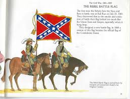 Confederate Flag And Union Flag The Confederate Flag For Children From 1993 American Civil War
