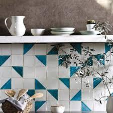 applique in cotto carrelage méditerranéen carreaux décorés à la heritage