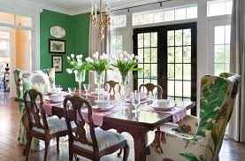 Dining Room Wingback Chairs Wingback Chairs Warm Up Every Room Nell