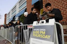 what stores are open on thanksgiving early start hurts black friday sales cyber monday hits record