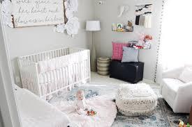 Pom Pom Crib Bedding by Aubrey Kinch The Blog Hollyn U0027s Nursery 6 Months Later
