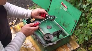 coleman stove manual restoring a coleman stove burner assembly youtube
