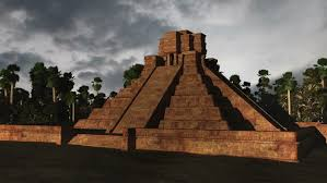 imagenes mayas hd maya pyramid clouds timelapse realistic 3d render maya pyramid