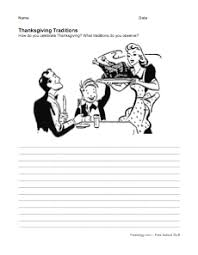 thanksgiving writing prompts freeology