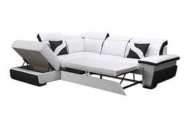 canapé d angle commandeur canapé d angle en cuir pu zoé convertible canapés d angle