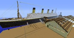 most detailed 1 1 scale titanic by deadkoalas minecraft project