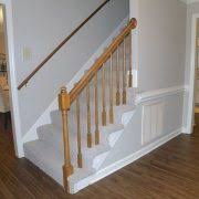 fabulous luxury staircase with vinyl plank flooring closet