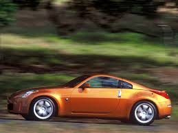 nissan coupe 350z nissan 350z sunset orange speed side 1024x768 wallpaper