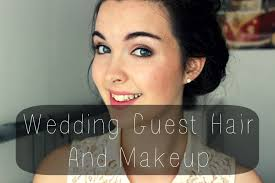 makeup for wedding wedding guest hair and makeup tutorial dazedandbeautiful