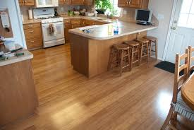 White Kitchen Appliances by Kitchen Floor Contemporary Kitchen Design With Neat Bamboo