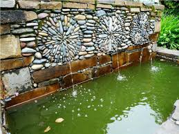 Mexican Patio Ideas by Cool Outdoor Wall Fountains